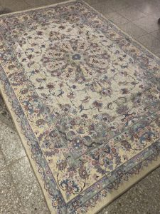 روفرشی ابریشم طرح فرش
